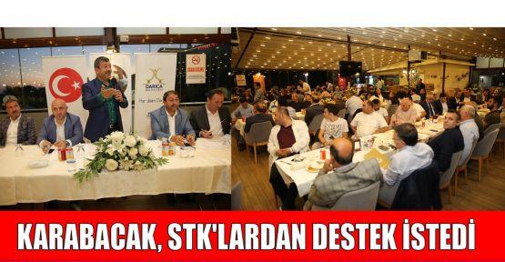 Karabacak, STK'lardan destek istedi