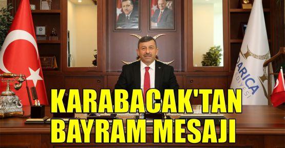Karabacak'tan bayram mesajı