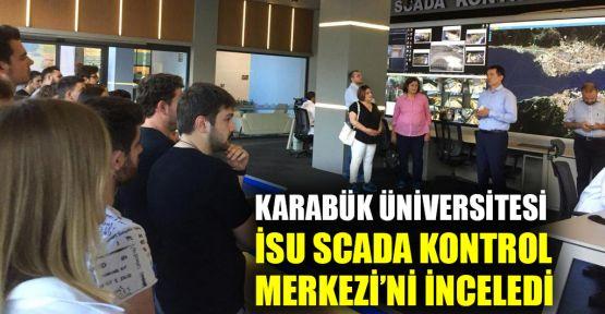 Karabük Üniversitesi, İSU SCADA Kontrol Merkezini İnceledi