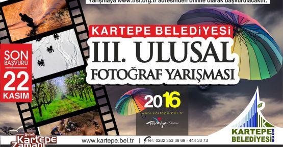 Kartepe 3. Ulusal Fotoğraf Yarışması başvuruları devam ediyor