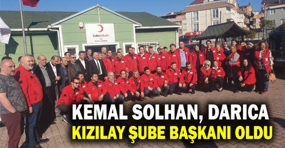 Kemal Solhan Darıca Kızılan Şube Başkanlığı'na seçildi