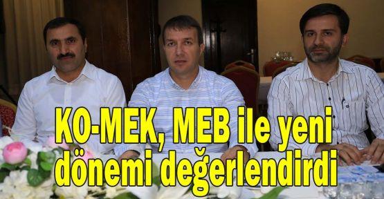 KO-MEK, MEB ile yeni dönemi değerlendirdi