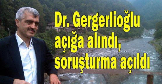 Kocaeli Barış Platformu sözcüsü Dr. Gergerlioğlu açığa alındı, soruşturma açıldı