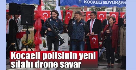 Kocaeli polisinin yeni silahı drone savar
