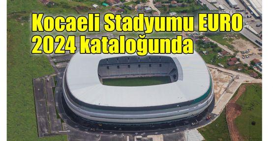 Kocaeli Stadyumu EURO 2024 kataloğunda