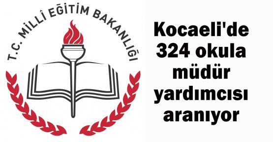 Kocaeli'de 324 okula müdür yardımcısı aranıyor