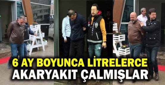 Kocaeli'de akaryakıt hırsızlığı iddiası