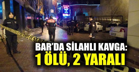 Kocaeli'de barda silahlı kavga: 1 ölü, 2 yaralı