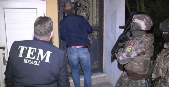 Kocaeli'de DEAŞ operasyonu: 4 gözaltı