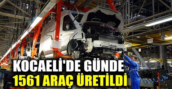 Kocaeli'de günde 1561 araç üretildi