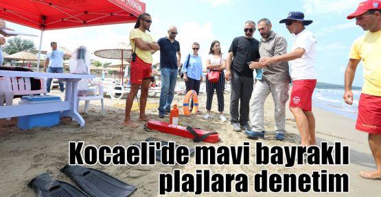 Kocaeli'de mavi bayraklı plajlara denetim