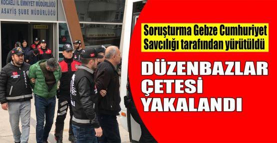 Kocaeli'de otomobil hırsızlığı operasyonu