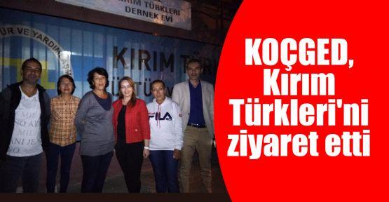 KOÇGED, Kırım Türkleri'ni ziyaret etti