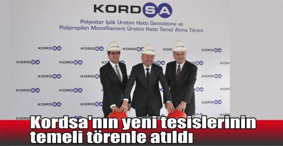Kordsa'nın yeni tesislerinin temeli atıldı