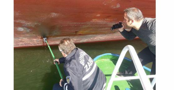 Körfez'i kirleten 10 gemiye, 10 ayda 10 milyon ceza