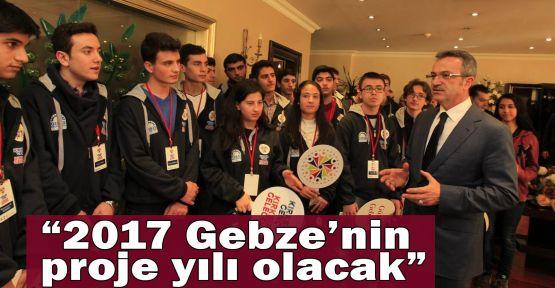 Köşker:2017 Gebze'nin proje yılı olacak