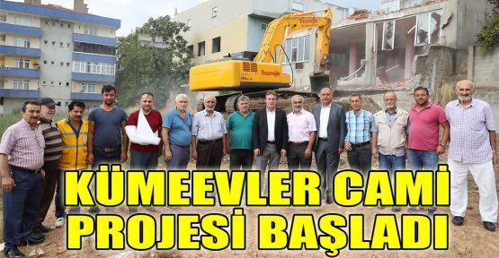 Kümeevler Cami projesi başladı