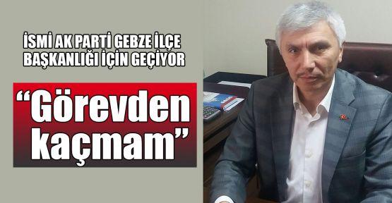 Mahmut Yandık: Görevden kaçmam