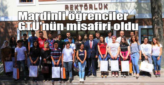 Mardinli öğrenciler GTÜ'nün misafiri oldu
