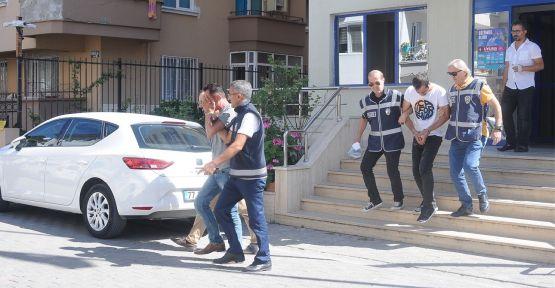 Marketlerden hırsızlık yapan 2 kişi tutuklandı
