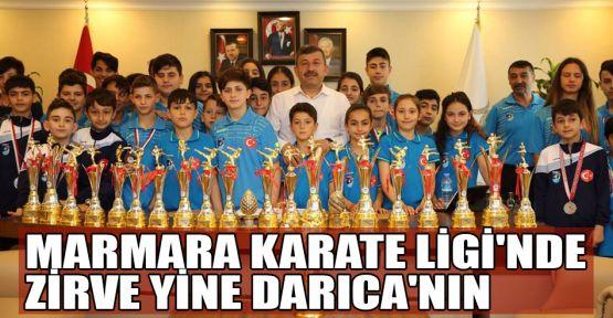 Marmara Karate Ligi'nde zirve Darıca'nın
