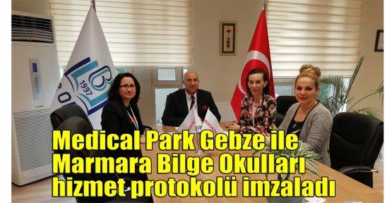 Medical Park Gebze ile Marmara Bilge Okulları hizmet protokolü imzaladı