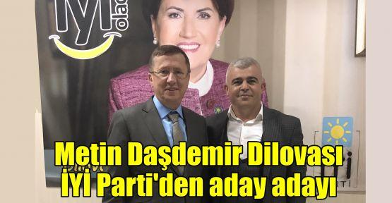 Metin Daşdemir Dilovası İYİ Parti'den aday adayı