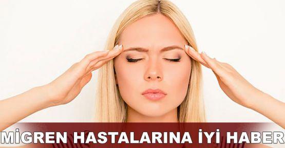 Migren hastalarına iyi haber
