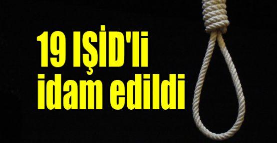 Mısır 19 IŞİD'li mahkumu idam etti