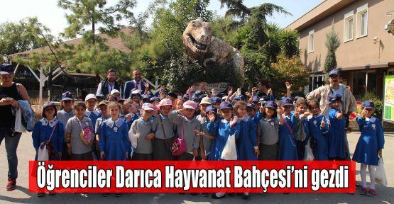 Öğrenciler Darıca Hayvanat Bahçesi''ni gezdi