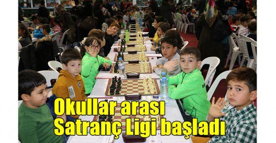 Okullar arası Satranç Ligi başladı