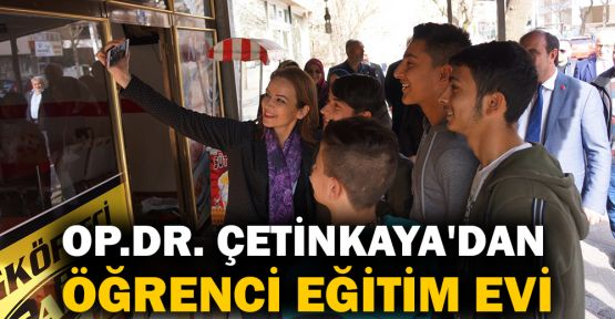 Op.Dr. Burcu Çetinkaya'dan Öğrenci Eğitim Evi