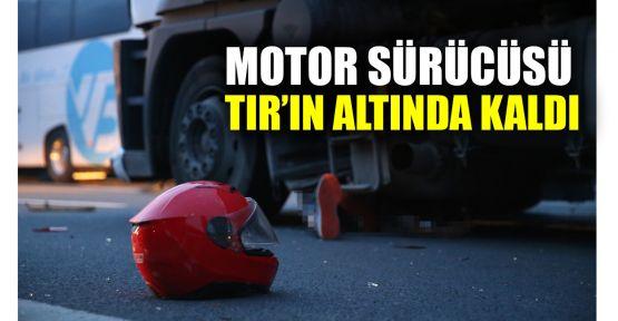 Otoyolda zincirleme kaza: 1 ölü, 2 yaralı