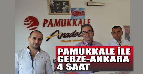 Pamukkale ile Gebze – Ankara 4 saat