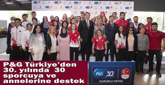 P&G Türkiye'den 30. yılında  30 sporcuya ve annelerine destek