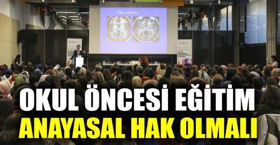 Psikiyatr Prof.Dr. Yazgan'dan TBMM'ye çağrı: Okul öncesi eğitim anayasal hak olmalı