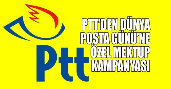 PTT'den Dünya Posta Günü'ne özel mektup kampanyası