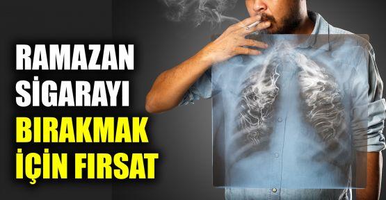 Ramazan, sigarayı bırakmak için fırsat