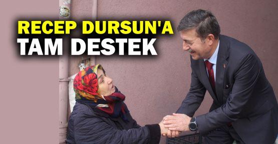Recep Dursun'a tam destek