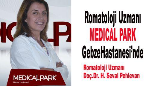 Romatoloji Uzmanı MEDICAL PARK Gebze Hastanesi'nde