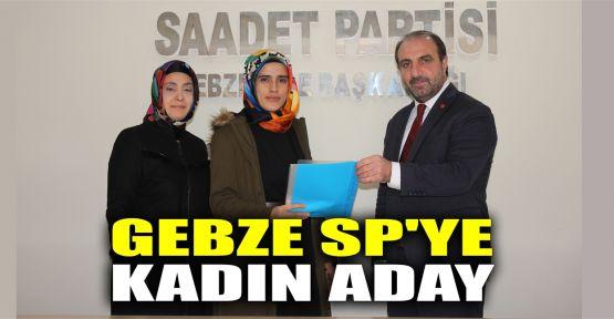 Saadet Partisi'ne ilk başvuruyu kadın aday yaptı