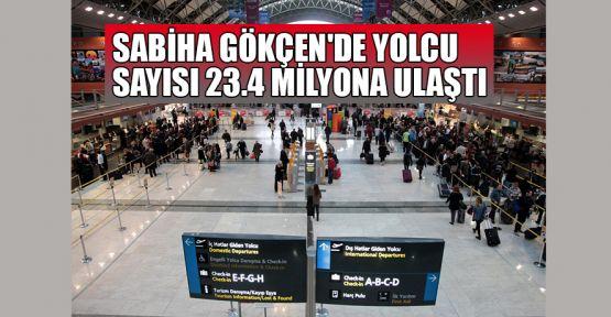 Sabiha Gökçen'de yolcu sayısı Eylül'de 23.4 milyona ulaştı