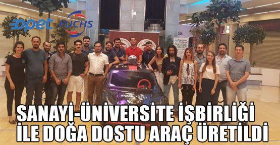 Sanayi-üniversite işbirliği ile doğa dostu araç üretildi