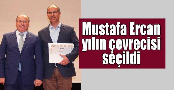 Sanayici Mustafa Ercan yılın çevrecisi seçildi