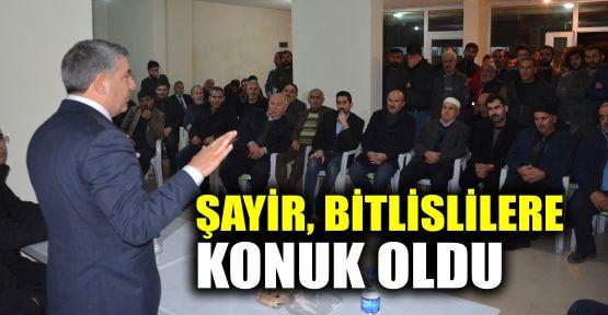 Şayir, Bitlislilere konuk oldu