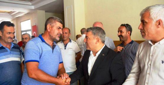 Şayir'den işçilere çifte bayram
