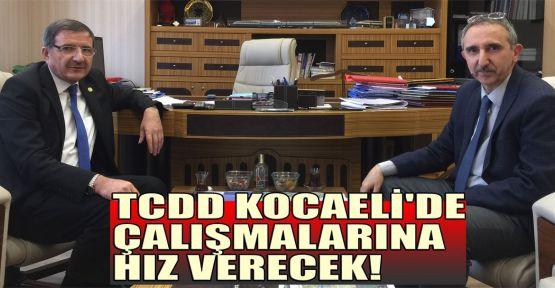 Şeker: TCDD Kocaeli'de çalışmalarına hız verecek!