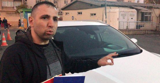 Sıfır aracın kaputunun değişmiş çıktığı iddiasıyla suç duyurusunda bulundu