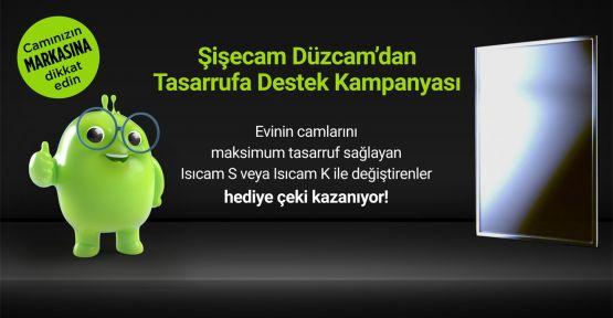 Şişecam Düzcam'dan tasarrufa destek kampanyası