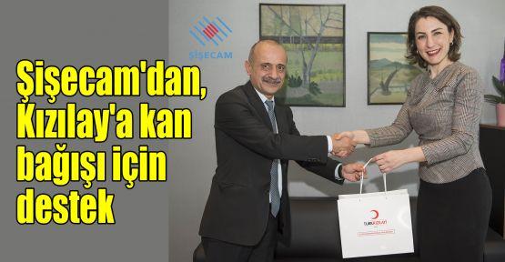 Şişecam'dan, Kızılay'a kan bağışı için destek